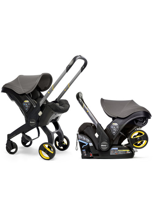 Doona Doona + Infant Car Seat - Stroller With Infant Car Seat Base Grey Hound