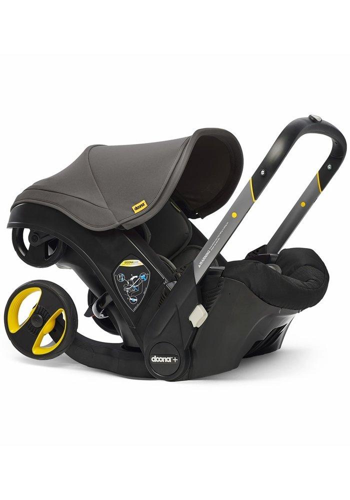Doona + Infant Car Seat - Stroller With Infant Car Seat Base Grey Hound