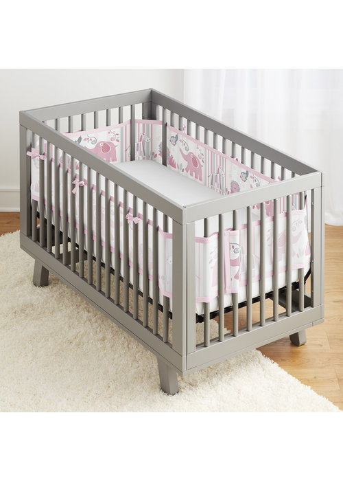 Breathable Baby Breathable Baby Breathable Mesh Crib Liners In Safari Fun Girl