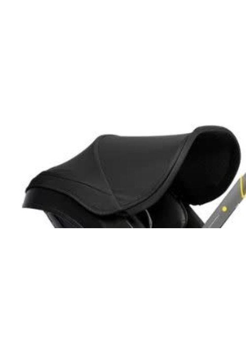 Doona Doona Canopy With Shoulder Pads ONLY In Nitro Black