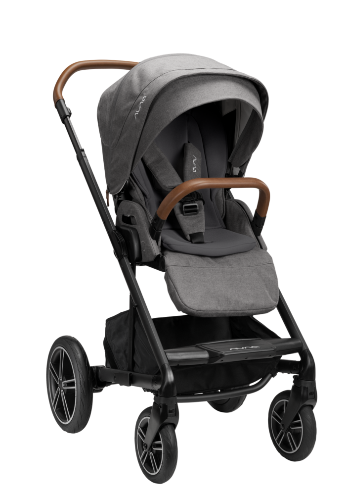 2020 Nuna Mixx Next Stroller In Granite With Ring Adapter