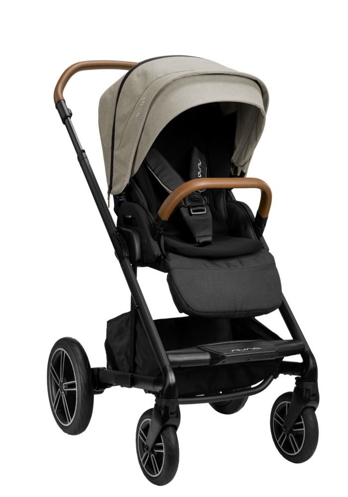 2020 Nuna Mixx Next Stroller In Timber With Ring Adapter