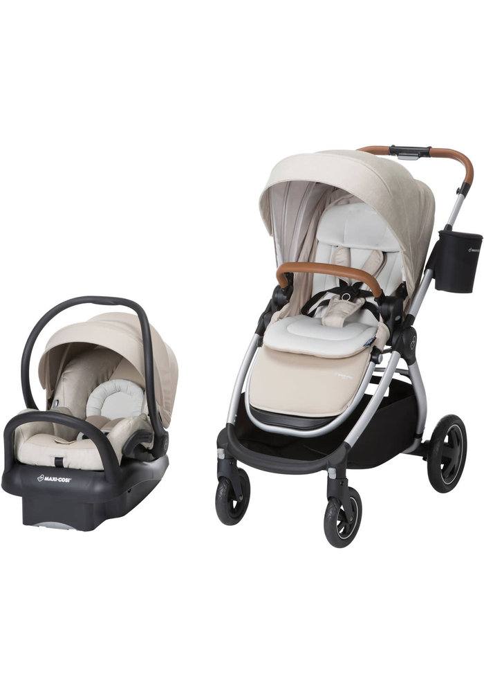 Maxi-Cosi® Adorra™ 5-in-1 Modular Travel System in Nomad Sand