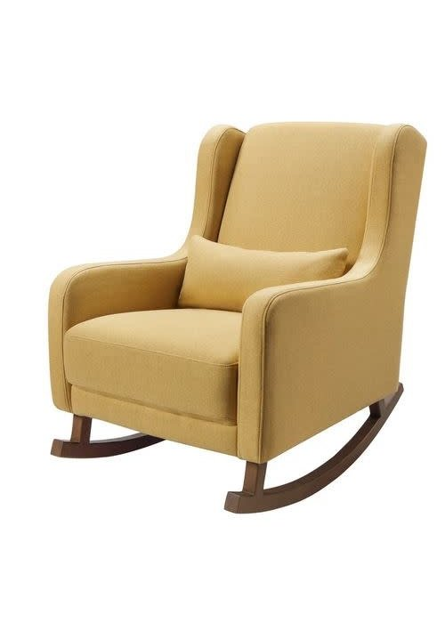 Baby Letto Baby Letto Kaia rocker in eco-performance fabric | water repellent & stain resistant In Performance Dijon Eco-Twill