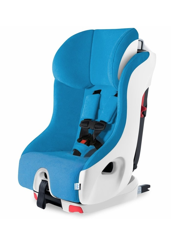 Clek Foonf Convertible Booster Car Seat In Ten Year Blue