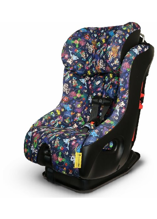 Clek Clek Fllo Convertible Booster Car Seat In Tokidoki Reef Rider