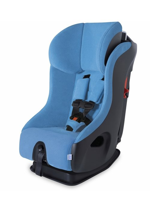 Clek Clek Fllo Convertible Booster Car Seat In Ten Year Blue