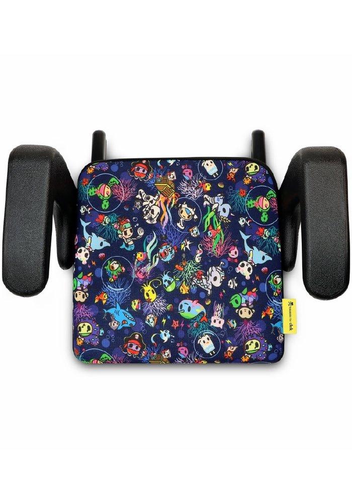 Clek Olli Booster Car Seat In Tokidoki Reef Rider