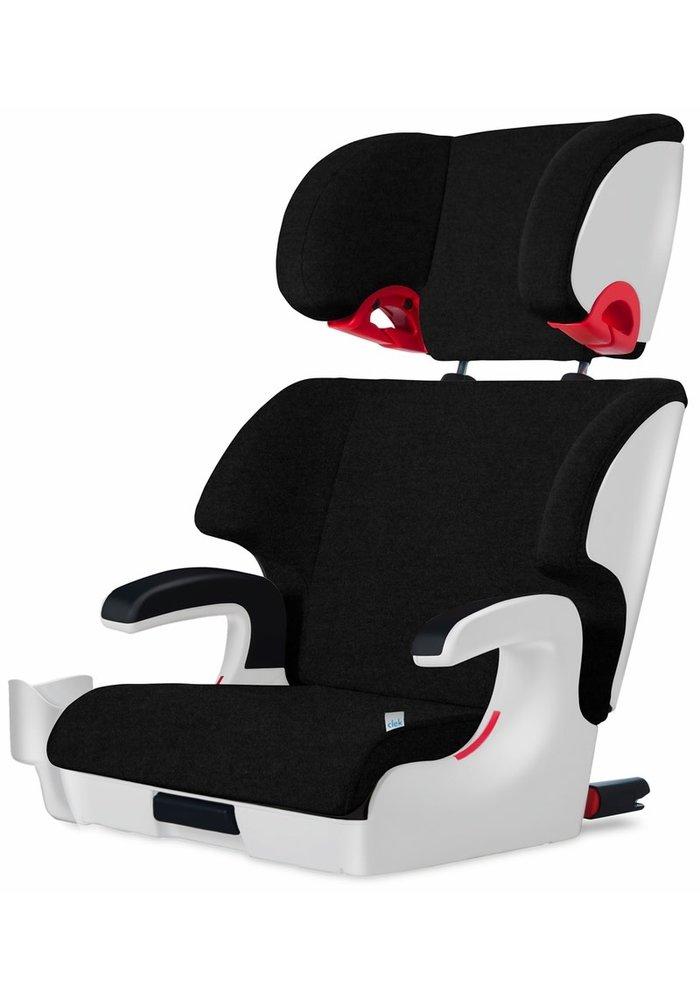 Clek Oobr Booster Car Seat In Chrome