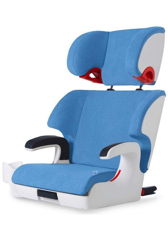 Clek Oobr Booster Car Seat In Ten Year Blue