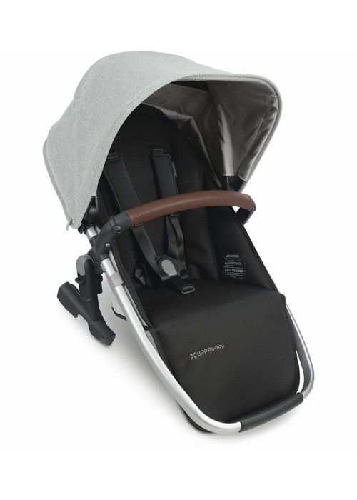 UppaBaby 2020 Uppa Baby Vista Rumble Seat V2 (Only) In STELLA (Brushed mélange/silver/Chestnut Leather) ARRIVING 9/1/2020