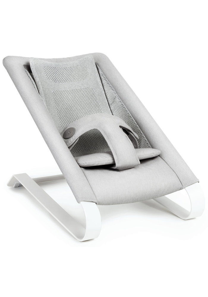 Bombol Bamboo 3D Knit Bouncer - Pebble Grey
