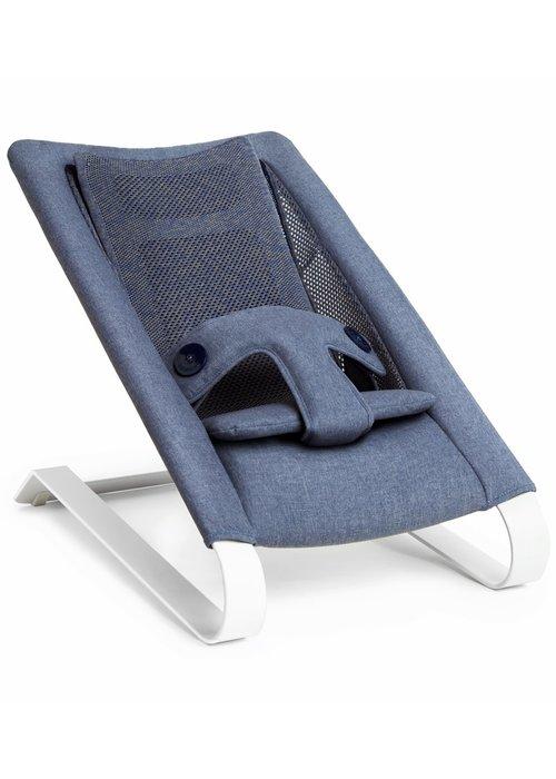 Bombol Bombol Bamboo 3D Knit Bouncer - Denim Blue