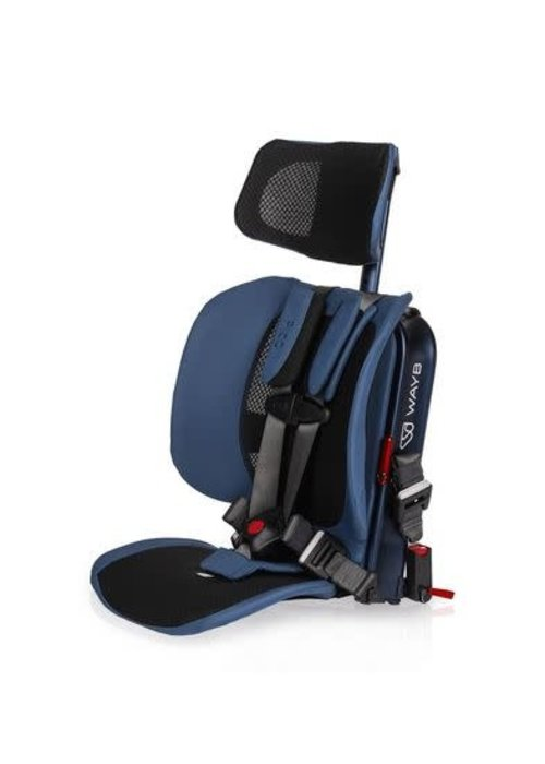 Wayb Way-B Pico Travel Car Seat In Midnight Sky