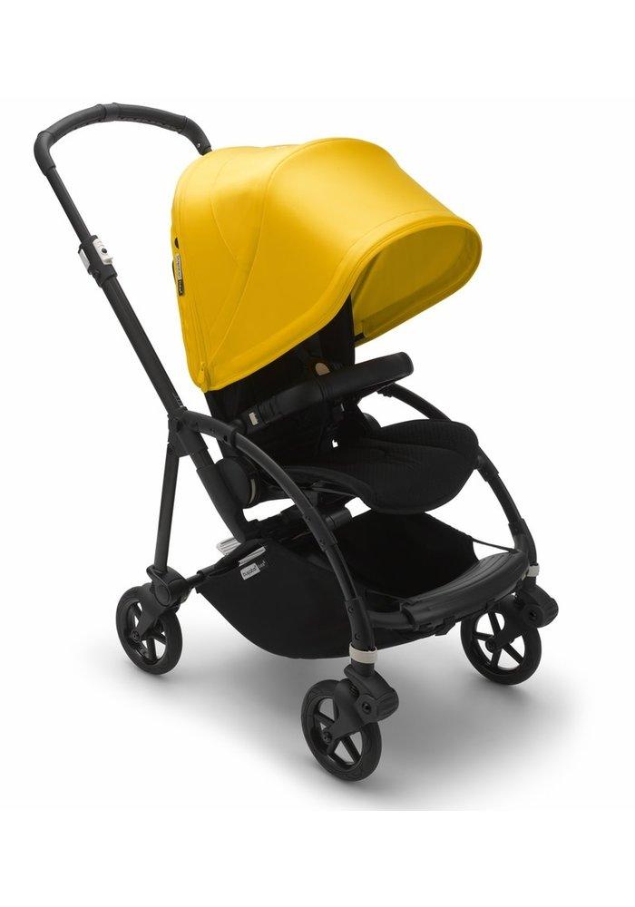 Bugaboo Bee6 Complete Stroller - Black/Black/Lemon Yellow