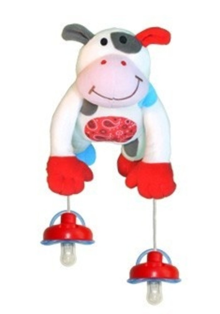 Pully Palz Puddles Cow
