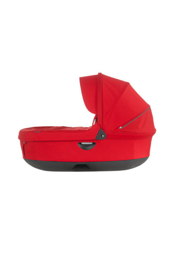 CLOSEOUT!! 2017 Stokke Crusi And Trailz Carrycot In Red