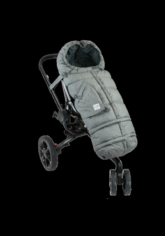 7 A.M. Enfant Evolution 212 Blanket In Heather Grey- 6 Months -4 Toddler