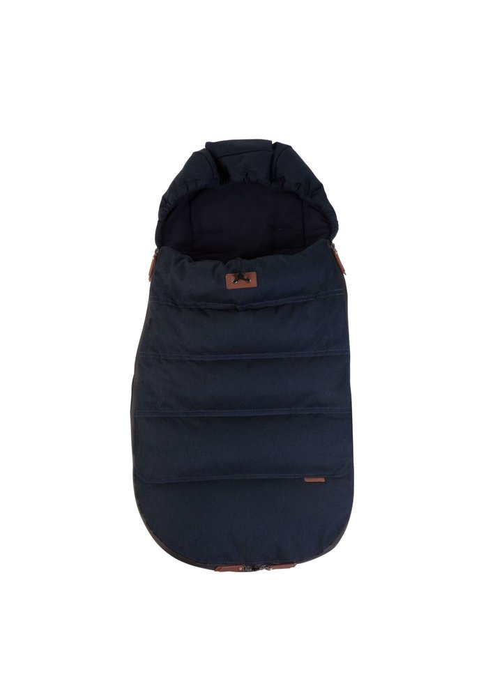Silver Cross Wave Footmuff - Indigo