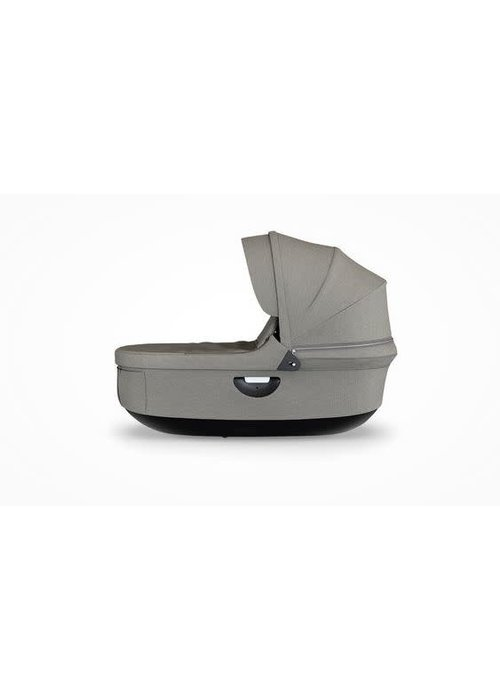 Stokke CLOSEOUT!! Stokke Crusi And Trailz Carrycot In Brushed Grey