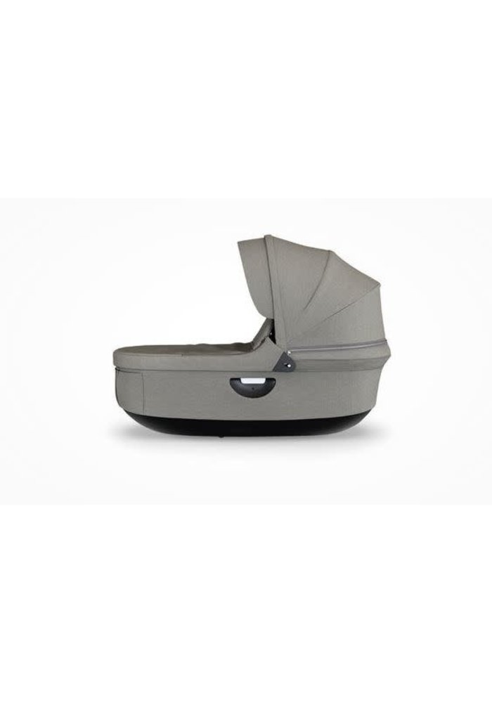 CLOSEOUT!! Stokke Crusi And Trailz Carrycot In Brushed Grey