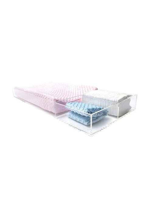 Acrylic Lucite Changing Tray In Large- Thin