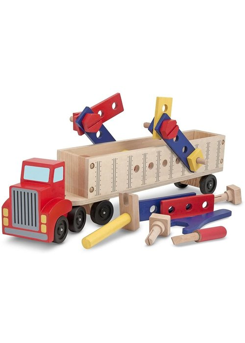 Melissa And Doug Melissa And Doug Big Rig Building Set
