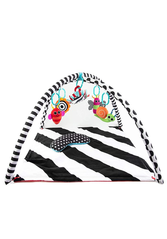 Sassy Black And White Playmat