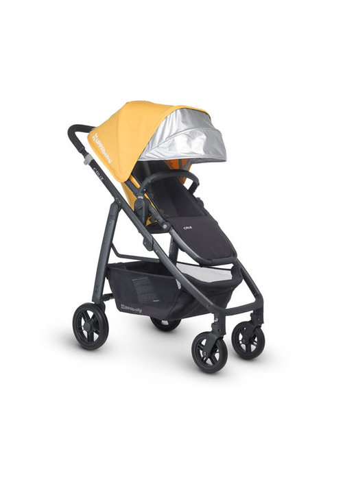 UppaBaby CLOSEOUT!! 2015 Uppa Baby Cruz Stroller In Maya (Marigold - Carbon)