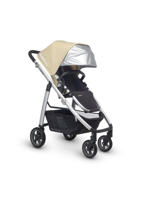 UppaBaby CLOSEOUT!! 2015 Uppa Baby Cruz Stroller In Lindsey (Wheat-Silver)