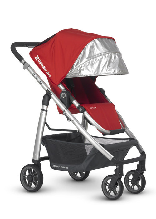 UppaBaby CLOSEOUT!! 2013 Uppa Baby Cruz Stroller In Denny (Red)