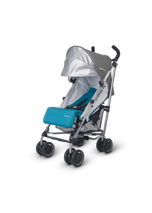 UppaBaby CLOSEOUT!! 2015 Uppa Baby G-Luxe Stroller In Sebby (Teal-Silver)
