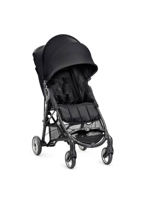 Baby Jogger CLOSEOUT!! 2018 Baby Jogger City Mini Zip Wheel Single In Black - Gray With Cup Holder