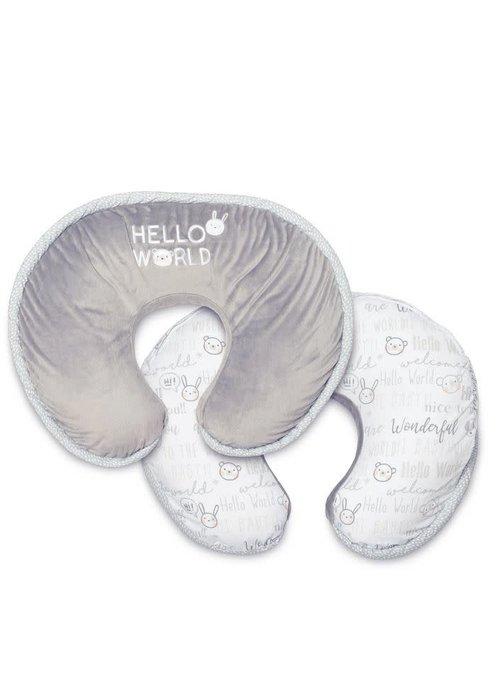 Boppy Boppy Luxe Feeding & Infant Support Pillow In Hello World