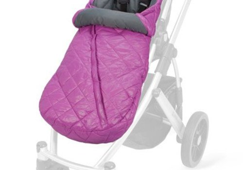 UppaBaby **FINAL SALE**Uppa Baby Baby Ganoosh Footmuff With Primaloft In Olivia (Fuschia)