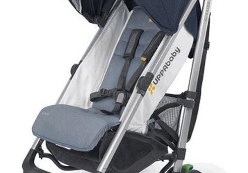 UppaBaby Uppa Baby G-Luxe Stroller In AIDAN (Denim/Silver)