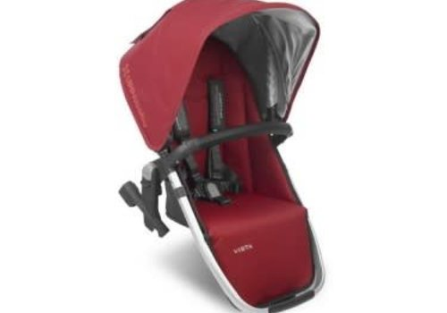 UppaBaby Uppa Baby 2018 Vista Rumble Seat (Only) In DENNY (Red/Silver/Black Leather)