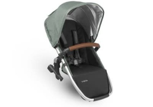 UppaBaby Uppa Baby Vista Rumble Seat (Only) In EMMETT (Green Mélange/Silver/Saddle Leather)