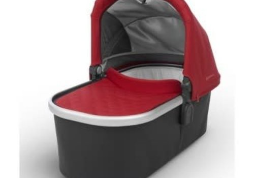 UppaBaby Uppa Baby Vista-Cruz Bassinet In DENNY (Red Matte/Silver)