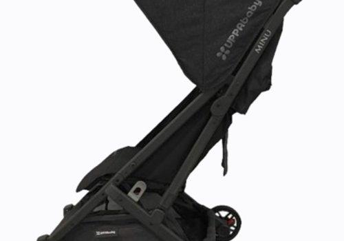 UppaBaby 2018 Uppababy Minu Stroller In JAKE (Black Mélange/Carbon/Black Leather)