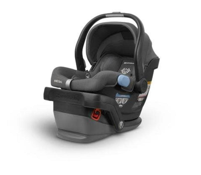 UppaBaby MESA Infant Car Seat With Base In JORDAN (Charcoal Mélange)