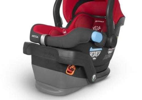 UppaBaby 2018 UppaBaby MESA Infant Car Seat With Base In DENNY (Red)