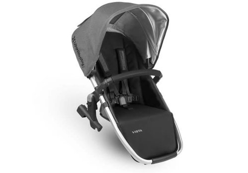 UppaBaby Uppa Baby 2018 Vista Rumble Seat (Only) In JORDAN (Charcoal Mélange/Silver/Black Leather)