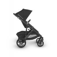 Uppa Baby Vista Stroller In Jake (Black/Carbon/Black Leather)