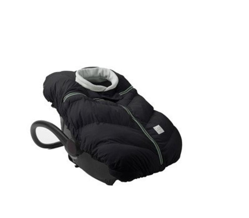 7 A.M. Car Seat Cocoon In Black