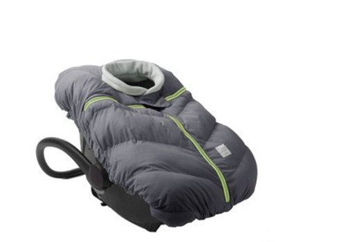 7 AM FINAL SALE 7 A.M. Car Seat Cocoon In Gray