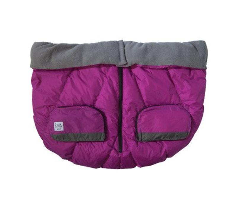 FINAL SALE 7 A.M. Enfant Evolution Blanket DUO In Grape