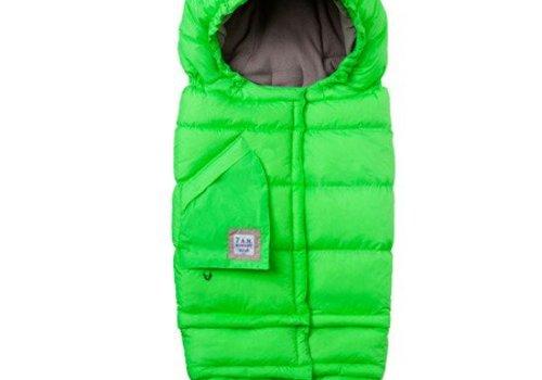 7 AM FINAL SALE !! 7 A.M. Enfant Evolution 212 Blanket In Neon Green- 6 Months -4 Toddler