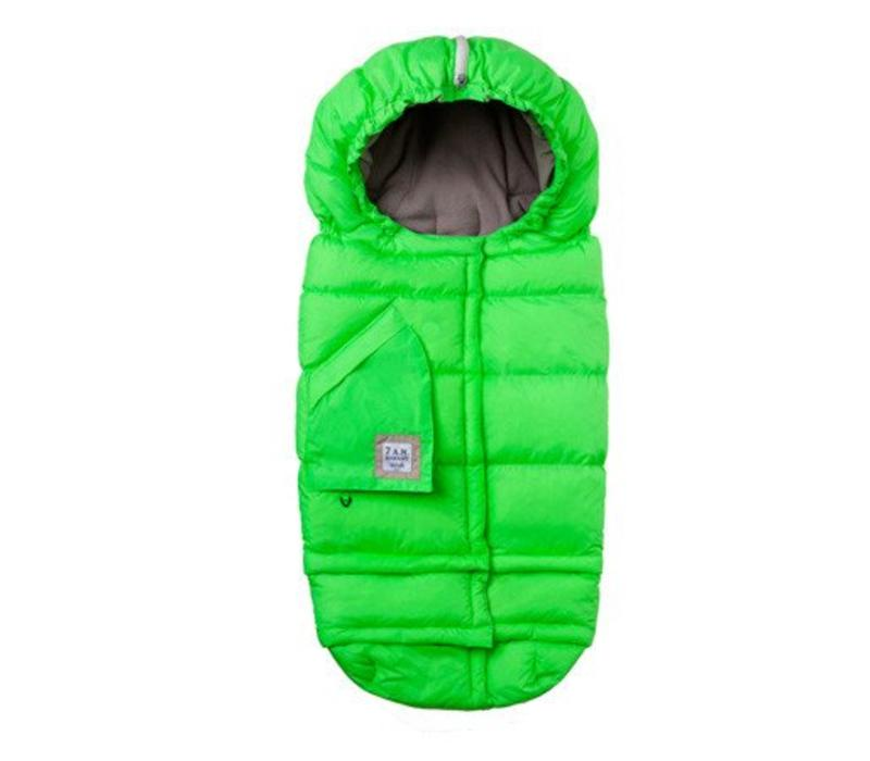 7 A.M. Enfant Evolution Blanket In Neon Green