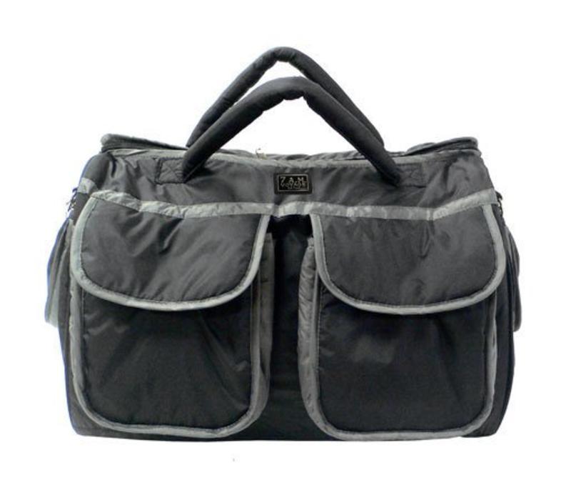 7 A.M. Enfant Large Voyage Bag In Black